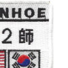 2nd Armored Recon Company Ops Ivanhoe Korean Conflict Patch | Upper Right Quadrant