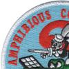 2nd Amphibious Mobile Construction Battalion Patch | Upper Left Quadrant