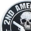 2nd Amendment Real Homeland Security Patch | Upper Left Quadrant