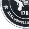 2nd Amendment Real Homeland Security Patch | Lower Left Quadrant