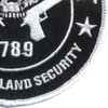 2nd Amendment Real Homeland Security Patch | Lower Right Quadrant