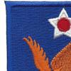 2nd Air Force Shoulder Patch | Upper Left Quadrant