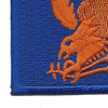 2nd Air Force Shoulder Patch | Lower Left Quadrant