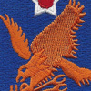 2nd Air Force Shoulder Patch | Center Detail