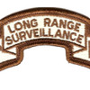 29th Infantry Division Long Range Scroll Desert Patch | Center Detail