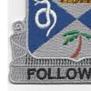 293rd Infantry Regiment Patch | Lower Left Quadrant