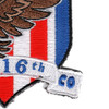 2916th Aviation Battalion A Company 2 Star Patch DESERT HAWKS Hook And Loop | Lower Right Quadrant