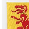 816th Tank Destroyer Battalion Patch   Upper Left Quadrant