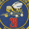 28th Mobile Construction Battalion Patch | Center Detail
