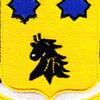 28th Cavalry Regiment Patch | Center Detail