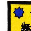28th Cavalry Regiment Patch | Upper Left Quadrant