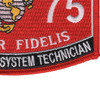 2875 Small Missile System Technician MOS Patch | Lower Right Quadrant