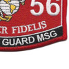 8156 Security Guard MSG MOS Patch | Lower Right Quadrant