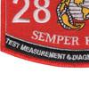 2871 Test Measurement & Diagnostic Equipment Technician MOS Patch | Lower Left Quadrant