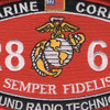 2861 Ground Radio Technician MOS Patch | Center Detail