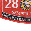 2861 Ground Radio Technician MOS Patch | Lower Left Quadrant