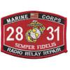 2831 Radio Relay Repair MOS Patch