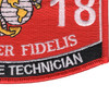 2818 Teletype Technician MOS Patch | Lower Right Quadrant