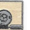 27th Quartermaster Regiment Patch | Upper Right Quadrant
