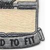27th Quartermaster Regiment Patch | Lower Right Quadrant