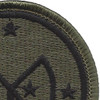 27th Infantry Brigade Patch | Upper Right Quadrant