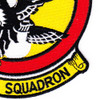 27th Fighter Interceptor Squadron Patch Falcons   Lower Right Quadrant