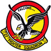 27th Fighter Interceptor Squadron Patch Falcons