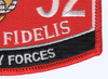 8152 Security Forces MOS Patch