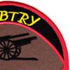 27th Field Artillery Regiment 5th Field Artillery Battalion B Battery Patch | Upper Right Quadrant