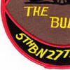 27th Field Artillery Regiment 5th Field Artillery Battalion B Battery Patch | Lower Left Quadrant