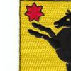 27th Cavalry Regiment Patch | Upper Left Quadrant