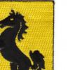 27th Cavalry Regiment Patch | Upper Right Quadrant