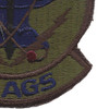 27th Aircraft Generation Squadron Subdued Patch | Lower Right Quadrant