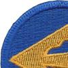 278th Airborne Infantry Regimental Combat Team Patch   Upper Left Quadrant