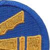 278th Airborne Infantry Regimental Combat Team Patch   Upper Right Quadrant