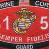 8151 Guard MOS Patch | Center Detail