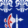 272nd Infantry Regiment Patch | Center Detail