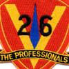 26th Marine Regiment 5th Marines Patch | Center Detail
