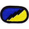 26th Airborne Pathfinders Infantry Regiment  Patch Oval
