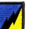 26th Airborne Pathfinders Infantry Regiment  Patch Flash | Upper Right Quadrant