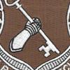 267th Quartermaster Regiment Patch | Center Detail