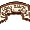 25th LRS Infantry Desert Patch | Center Detail