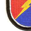 25th Division 4 Infantry Brigade Patch Flash   Lower Left Quadrant