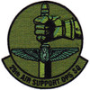 25th Air Support Operations Squadron Patch OD Green