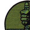 25th Air Support Operations Squadron Patch OD Green | Upper Left Quadrant