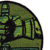 25th Air Support Operations Squadron Patch OD Green | Upper Right Quadrant