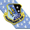 416th Bomb Wing SAC Banner Patch | Center Detail