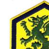 415th Chemical Brigade Patch | Upper Left Quadrant