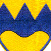 414th Infantry Regiment Patch WWII | Center Detail