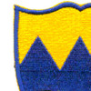 414th Infantry Regiment Patch WWII | Upper Left Quadrant